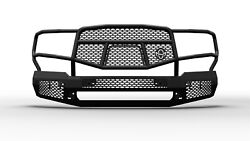 Ranch Hand Mff18hbm1 Midnight Series Front Bumper Fits 18-20 F-150