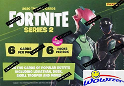 2020 Panini Fortnite Series 2 Trading Cards Exclusive Factory Sealed Blaster Box