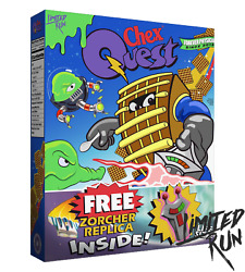 Chex Quest Chex Warrior Edition Pc Exclusive Limited Run Games Sealed And Rare
