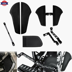 Defiance Front Rear Floorboard Shift Lever Pegs Pedal Linkage Set Fit For Harley