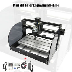 Mini Mill Laser Engraving Machine 3 Axis 3018 Pro Max Cnc Grbl Control With Er11