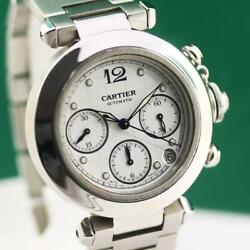 Pasha 2412 Stainless Steel Automatic Chronograph Unisex Watch