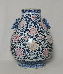 Large Chinese Blue And White Porcelain Pot   M3849