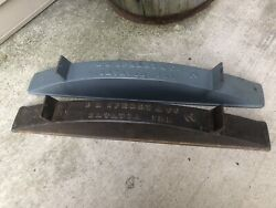 Rare Antique 2 Dr Sperry And Co Cast Iron Wagon Buggy Wheel Soaker Batavia Ill