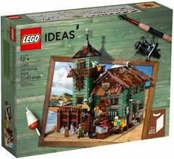 Lego Ideas Old Fishing Store 21310 - Building Toy And Popular Gift