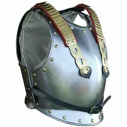 Medieval Cuirass Of The French Cuirassiers Breast-plate Knight Jacket Armor Gift