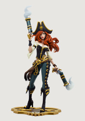 Miss Fortune. Unlocked. Pirate Statue. League Of Legends.