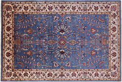 6and039 8 X 9and039 9 Fine Serapi Hand-knotted Wool Rug - Q7433