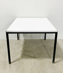 Florence Knoll T-bar Dining Table