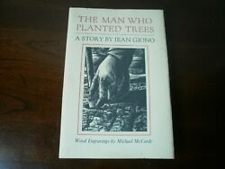 Signed The Man Who Planted Trees 1985 1st Jean Giono - Michael Mccurdy