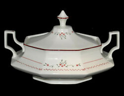 Johnson Bros Madison Oval Covered Vegetable Dish - Like New Condition