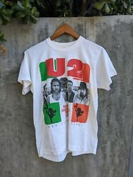 Vintage 1987 U2 North American Tour Double Sided Graphic Single Stitch T-shirt
