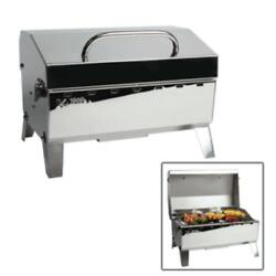 Grill Gas Portable Table Top Outdoor Camping Boat Sailboat Marine Bbq Cooker New