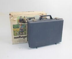 1970and039s Vintage Motorcycle Moped Scooter Nonfango Luggage Hard Case 14.5x11x4.5