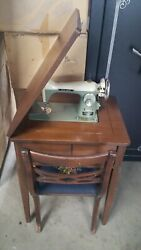 Vintage Sewing Machine New Home Model 170 J-a2 Janome Motor In Excellent