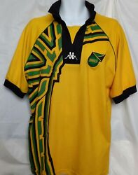 Jamaica National Team Authentic Kappa 1 Jersey Xl World Cup France 1998