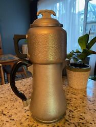 Vintage Guardian Service Brand Hammered Aluminum 8 Cup Drip Coffee Pot