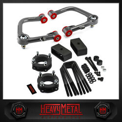 For 2007-2016 Toyota Tundra 3 Front + 2 Lift Kit + Upper Control Arms + Diff