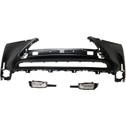 Bumper Covers Set Of 3 5211978905 8122078010 8121078010 For Lexus Nx200t 15-17