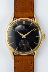 Omega Small Second2hands 2791-4 Manual Vintage Watch 1954and039s Overhauled
