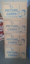 1987,1988.1989,1990 Topps 4 Vending Cases,free Shipping Gfcc