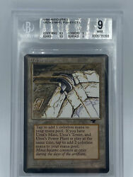 Urza's Mine Pulley - Bgs 9.0 0006735393 Graded - Antiquities - Mtg Seattle