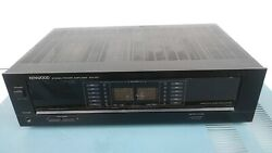 Kenwood Km-107 Good Working Stereo Power Amplifier Parts Parting Out , G234