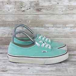 Classic Low Womens Size 6 Mint Green Canvas Athletic Comfort Skate Sneakers