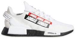 Adidas Originals Nmd R1 V2 White Black H02537 Men's Size 8-13 New With Tags