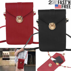 Touch Screen Cross Body Cell Phone Purse Bag Shoulder Strap Pouch Wallet Women $5.99