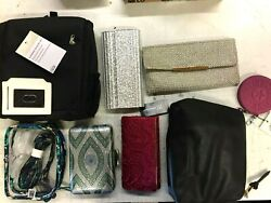 Lot of 8 INC Clutch Women#x27;s crossbody bags card holder Nordstrom Customer return $17.49