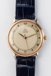 Omega Ref 2446-1 3hands Automatic Winding Vintage Watch 1947and039s Overhauled
