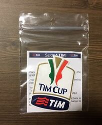 Stilscreen Official Italy Serie Tim Cup Patch 2015/16 Milan Juventus Roma Lazio
