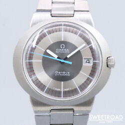 Omega Geneve Dynamic 166.039 Automatic Winding Vintage Watch 1971's