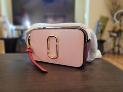 NWT THE MARC JACOBS Snapshot Leather Crossbody $259.00
