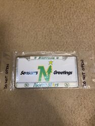 Minnesota North Star New In Package Very Rare License Plate Frame