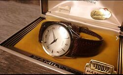 Hamilton Converta Iii Electric Watch New Old Stock Absolutely Mint Condition