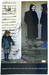 Brand New Signed 11x17 Poster The Devil And God Raging Jesse Lacey Me Jsa Loa