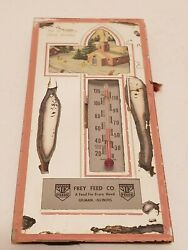 Frey Feed Co A Feed For Every Need Gilman Illinois Master Mix Feeds Thermometer