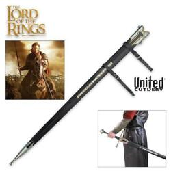 Lord Of The Rings Scabbard For King Elessar Anduril 41 Sword United Cutlery