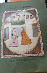 Old Vintage Indian Chamba Paintings Prints Folder From India 1974