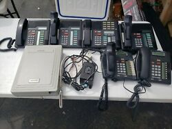 Nortel Norstar 3x8 Rel. 7 Telephone System With 6 Phones.