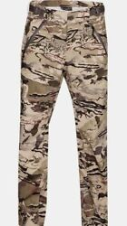 Under Armour Mens Pro Shell Gore-tex Barren Camo Hunting Pants 1316721-999 Small