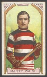 1911 C55 Imperial Tobacco 11 Marty Walsh Perfectly Centered 100 Original Card