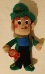 1985 General Mills Lucky Charms Leprechaun 16 Plush Mail Away Promo New W/ Tag
