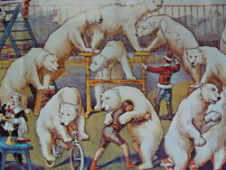 1979 The Ringling Bros And Barnum And Bailey Combined Shows Poster