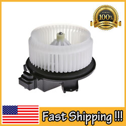 Heater Blower Motor W/fan Cage For Ford Compass Accord Edge Dts Pilot Mkx Rdx Us