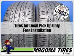 2 Toyo Open Country A39 235/55/19 Used Tires 90 Rmng Dot 2019 2020 101v 2355519