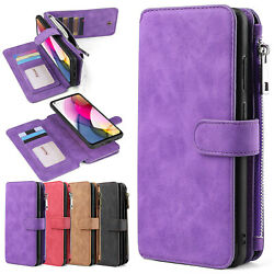 For Motorola Moto G Stylus/ Power/ Play 2021 Wallet Leather Magnetic Case Cover