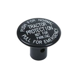 245186 Push Pull Knob W/ Pin Black Tractor Protection For Pp-1 Replac. Sap245186